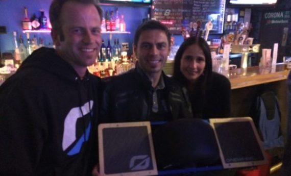Kyle Doerksen Onewheel launch celebration.