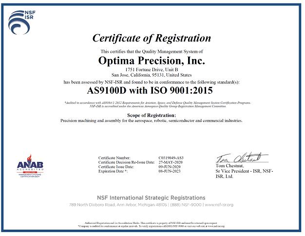 AS9100D - ISO9001:2015